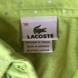 Lacoste Tops - Lacoste Top